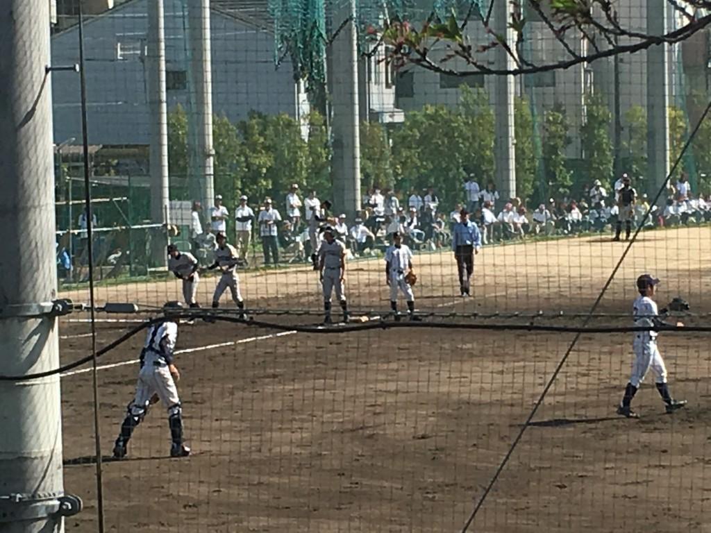 3塁打を放った立命館宇治・百田選手
