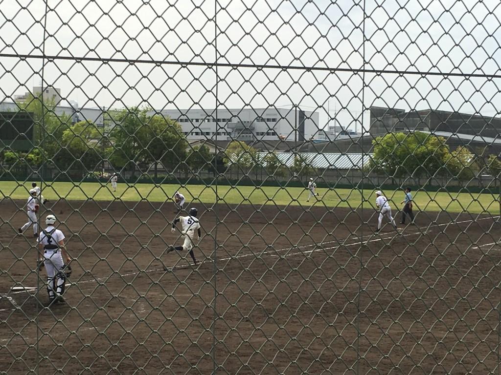 大阪青凌、最後の打者がセカンドゴロに倒れゲームセット