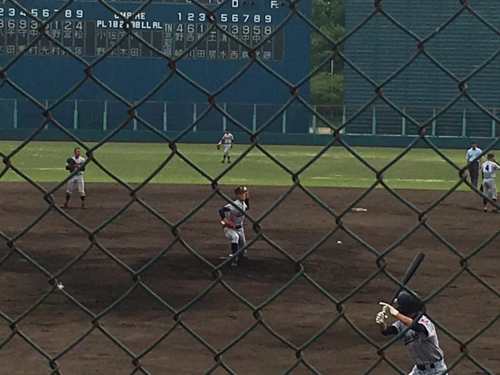 京都国際エースナンバーの柳田投手