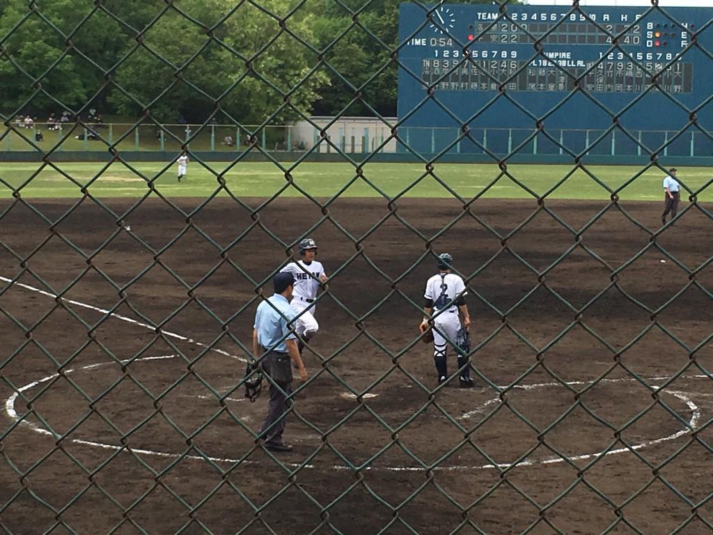 西川選手が還り平安5点目