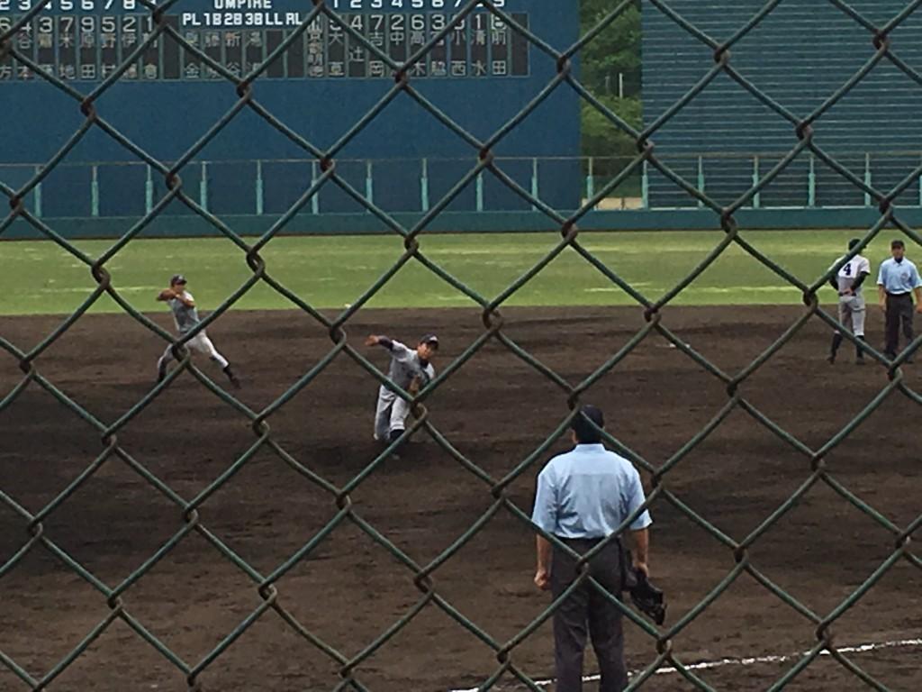 京都外大西3番手の山田投手