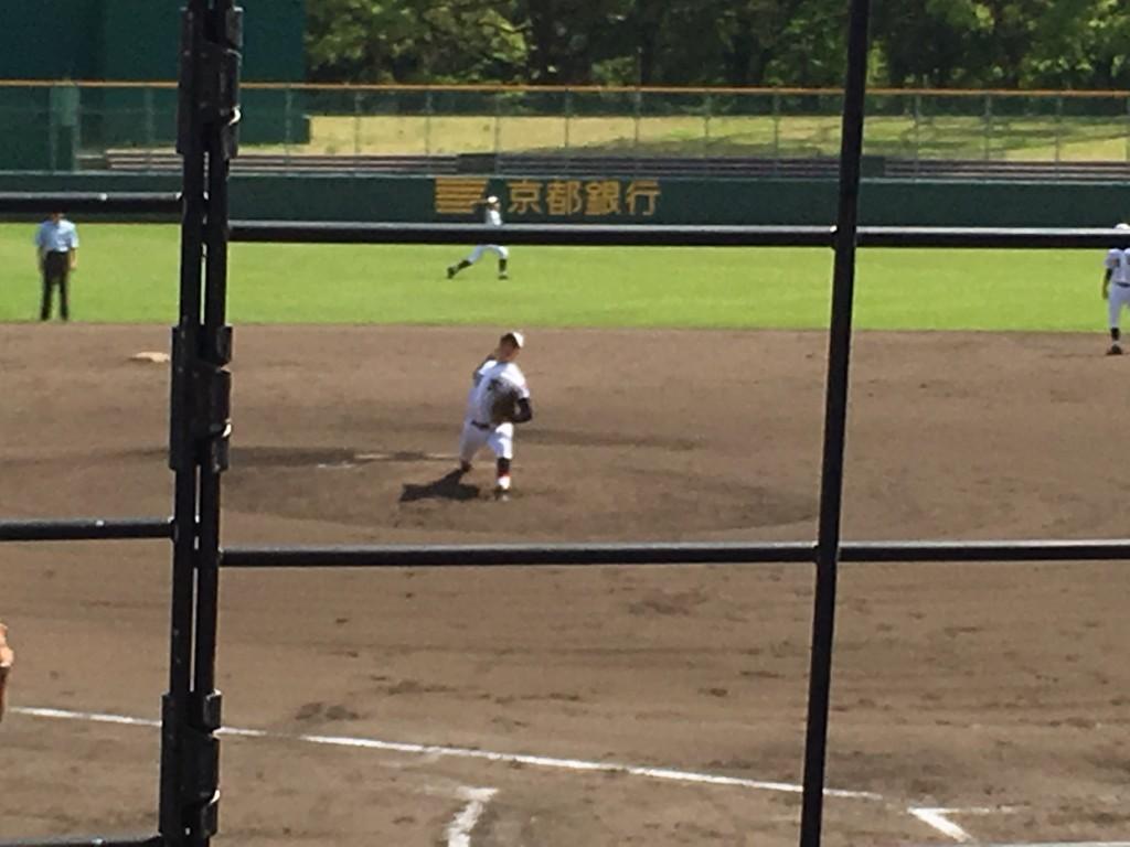 翔英3番手の平垣内投手