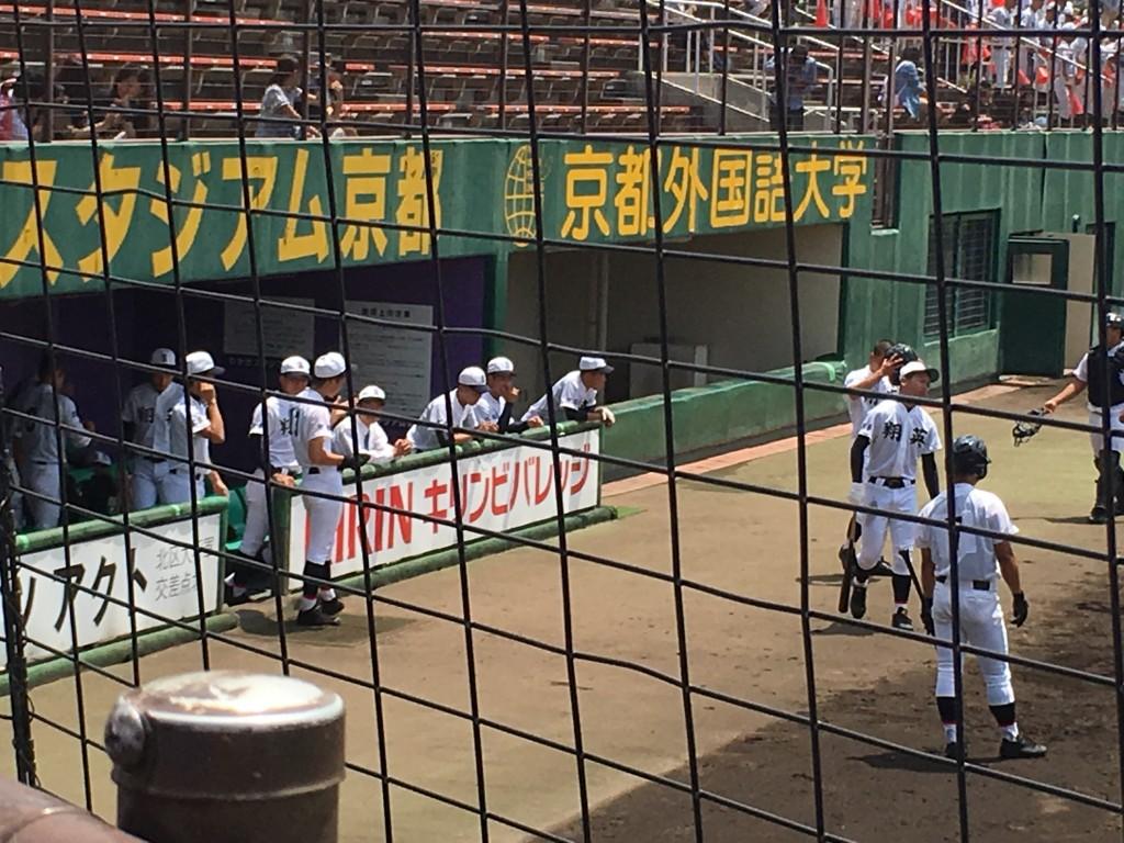 試合前の「儀式」はなく自然体の京都翔英