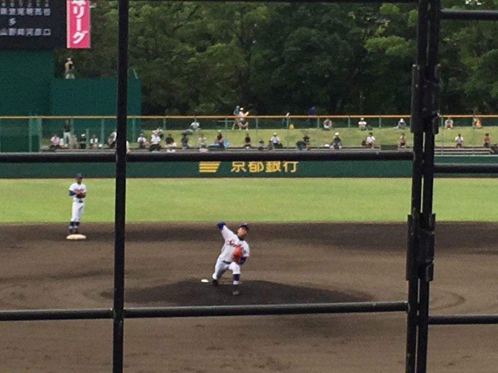 福知山成美先発の北野投手