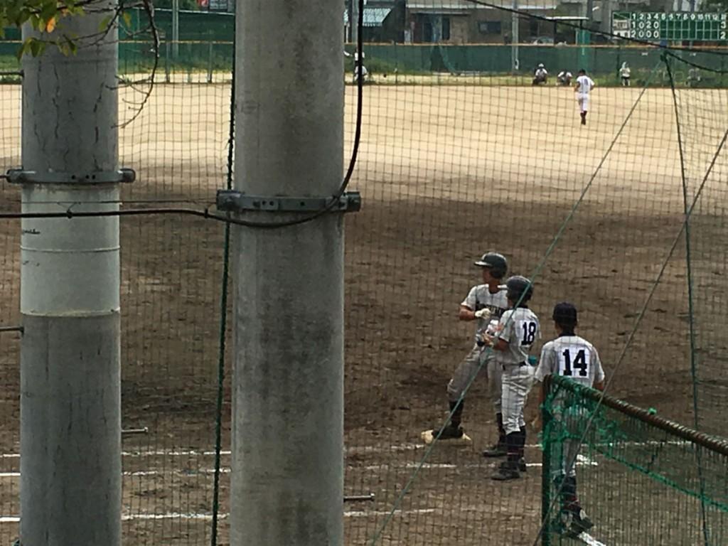 寺田選手がこの試合2打点目のタイムリーヒット