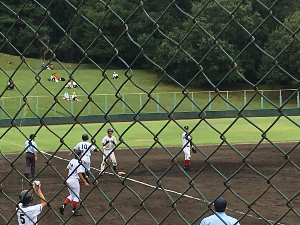 タイムリー3塁打の松田選手