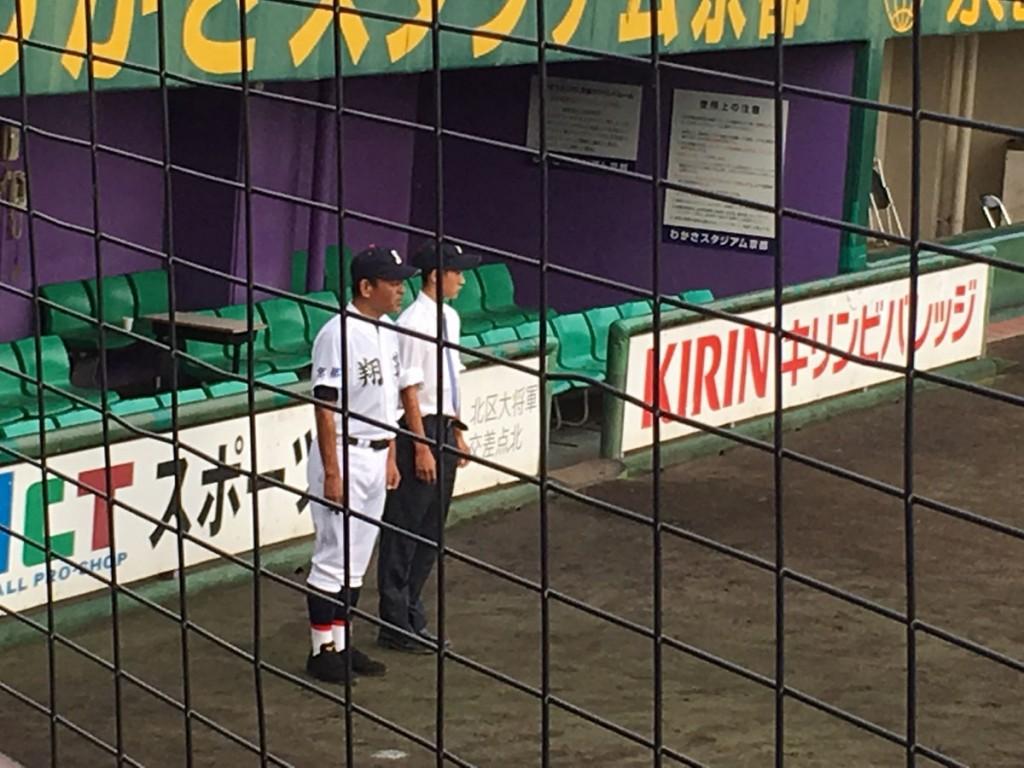 今秋も京都翔英を準優勝に導かれた浅井監督
