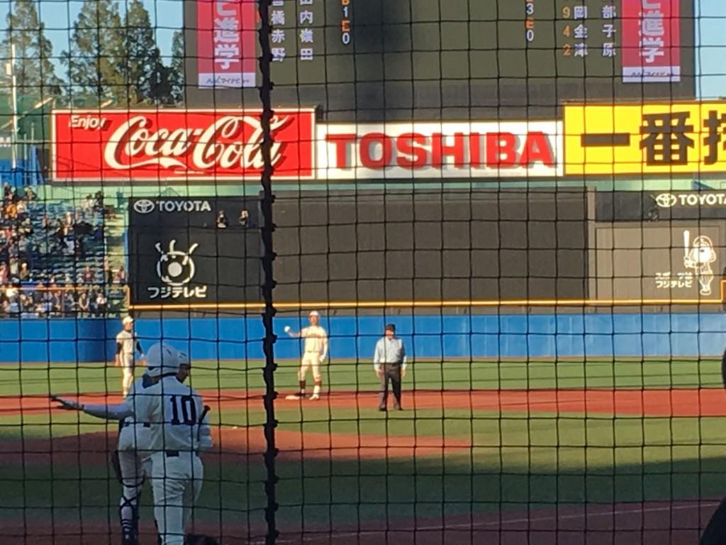 タイムリー2塁打の橘内選手