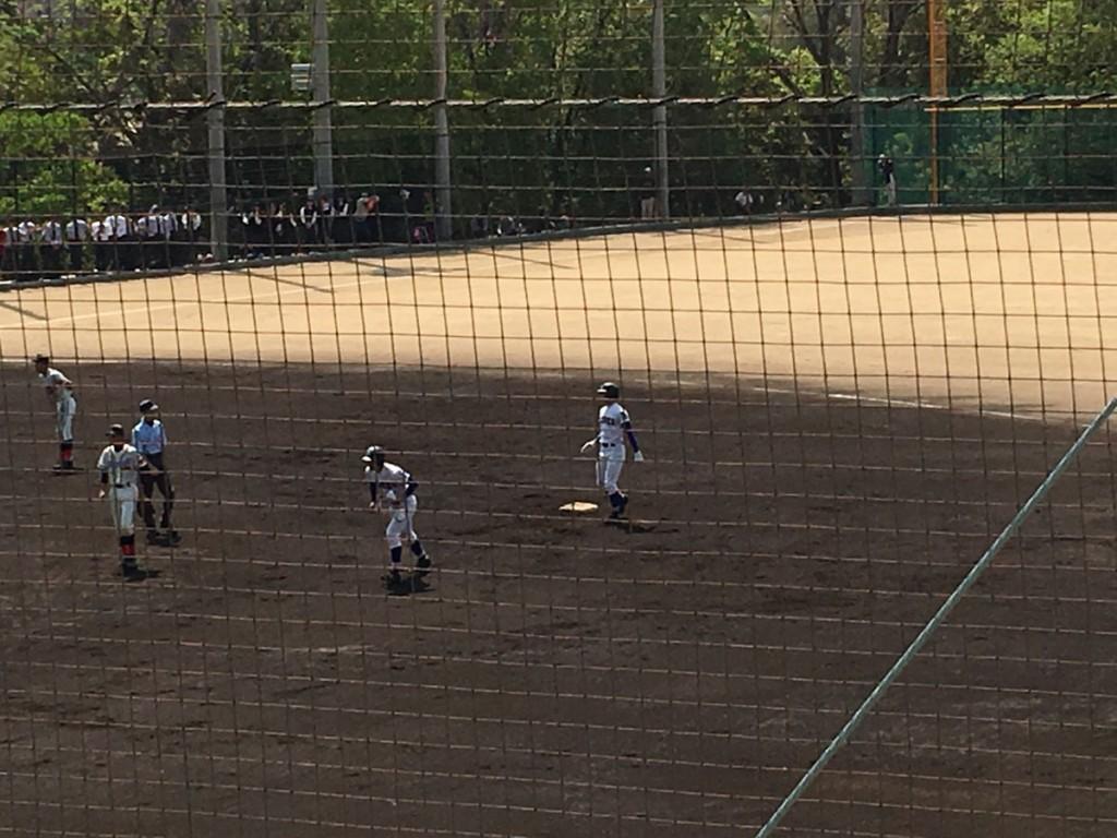 タイムリー2塁打の濱内選手