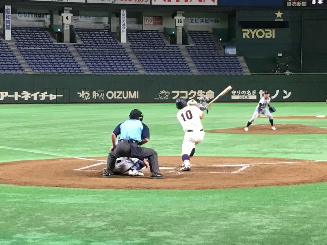 [ 一回戦 ] 大阪商業大 VS 京都学園大