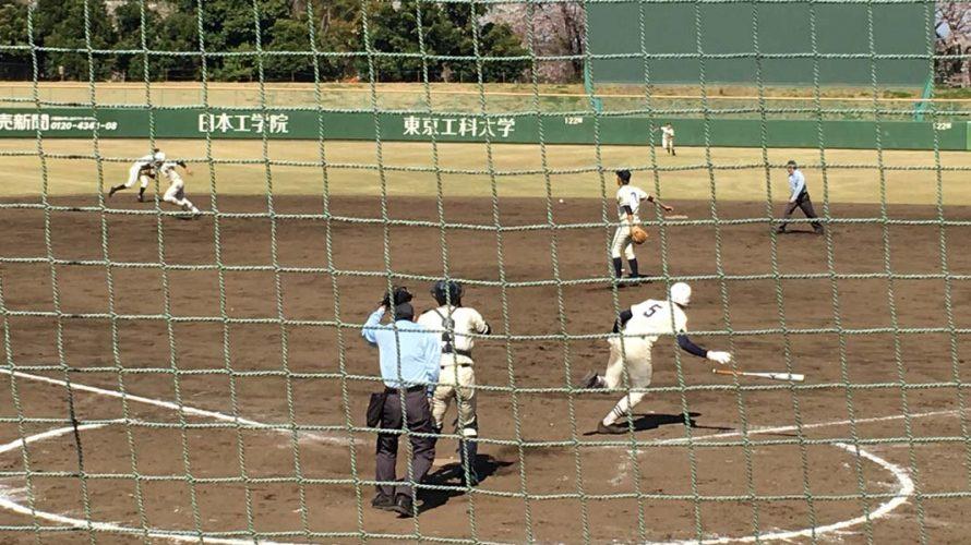 [ 四回戦 ] 日大三 VS 小松川